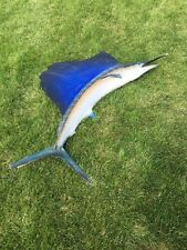 LARGE 6' SAILFISH SWORDFISH BLUE MARLIN OCEAN FISH TAXIDERMY WALL MOUNT