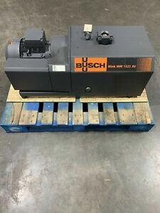 Busch Mink MM1322.AV, Single Stage rotary claw vacuum pump.