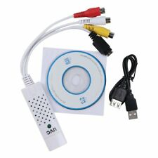 USB2.0 Video TV Tuner DVD Audio Capture Card Converer Adapter for Win7/8 GB