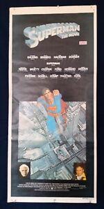 SUPERMAN THE MOVIE - CHRISTOPHER REEVE ORIGINAL AUSTRALIAN DAY BILL MOVIE POSTER