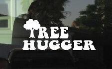 TREE HUGGER VINYL STICKER