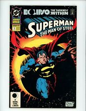 Superman: The Man of Steel Annual #1, VF+, 1991