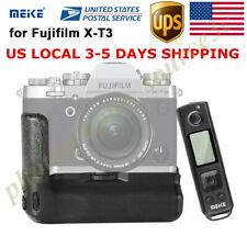 US Meike X-T3 Pro Battery Grip with 2.4G Wireless Remote for Fujifilm Fuji X-T3