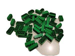 LEGO PARTS - 50 X GREEN BRICKS - 2X4