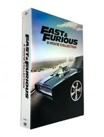 Fast and Furious: 8-Movie Collection (DVD, 2017, 9-Disc Box Set) NEW Sealed