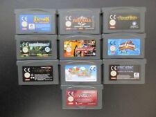 10x Game Boy Advance juegos bundle GBA King Kong, Batman, Tomb Raider instrucciones