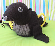 Sea Lion Tea Cosy Knitting Pattern to knit your own