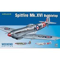 1:48 Eduard Kits Weekend Spitfire Mk Xvi Bubbletop Model Kit - 148 Edk84141 Mk