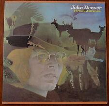 John Denver – Farewell Andromeda LP Gatefold – SF 8369 – VG+