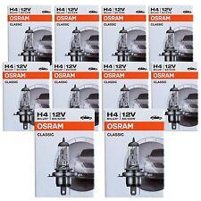 10x OSRAM H4 Autolampe 60/55 Watt 12V P43t 60W 55W Scheinwerfer 64193 Leuchte