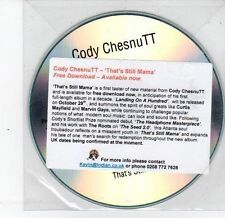 (DS268) Cody Chesnutt, That's Still Mama - DJ CD
