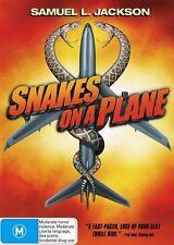 Snakes On a Plane - DVD LIKE NEW FREE POSTAGE AUSTRALIA WIDE REGION 4