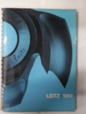CATALOGO LEITZ WERKZEUGFABRIK OBERKOCHEN/ WURTTMBERG 1961