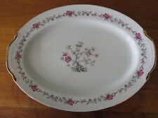 "Empress China Blossom Time 16 1/2"" Oval Severing Platter"