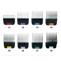 CHOOSE ANY 4 PET COMBS from WAHL 1-8 Stainless Steel Guides for KMSS KM2 Clipper