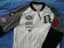 LTD ANNIVERSARY ED~Adidas BASEBALL Track sweat shirt Jacket Top firebird~Men~Lrg