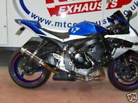 Suzuki GSXR 600/750 08-10 K8 K9 K10  Carbon MTC GP PRO RACE MTC Exhaust