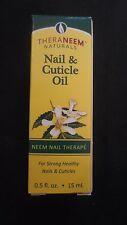 Theraneem Naturals Nail & Cuticle Oil Neem Nail Therape .5 Oz 15 ml