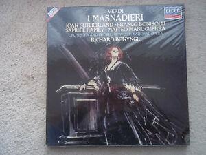 D273D Digital Verdi: I Masnadieri, Sutherland,Bonynge. New sealed box set.