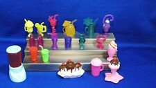 Lot of 20 Pcs Barbie & Similar Doll Mixed Drinks Beverages Dollhouse Miniatures