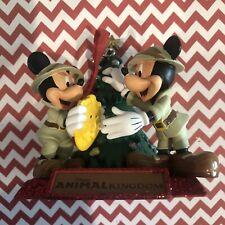 Disney Sketchbook Ornament Animal Kingdom Park Mickey & Minnie Shipper Box NEW