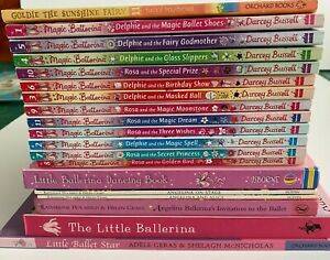 19 x Angelina Ballerina/Darcey Bussell Book Bundle & other Ballet Stories