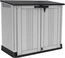 More details for large keter store nova garden lockable storage box xl shed outside bike bin tool