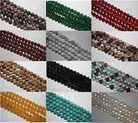 "16"" STRAND SEMI PRECIOUS GEMSTONE ROUND CRYSTAL BEADS  6mm (60 beads)"