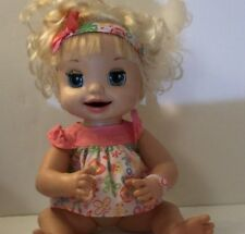 Baby Alive 2007 Learns To Potty  Doll Hasbro, moves her mouth Eyes Talking