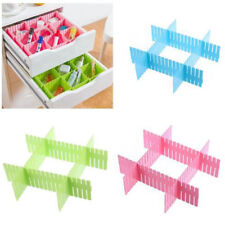 4pcs Drawer Divider Combinable Drawer Grid Divider for Underwear Makeup G