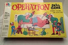 1997 OPERATION Board Game.   Complete, Lights But no Buzzer. Milton Bradley