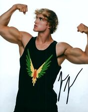 Logan Paul You Tube Vine Star Flexed Signed 8x10 Photo Autographed COA 01