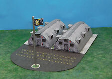 Military Quonset Hut Barracks N Scale Building DIY Paper Cutout Kit!