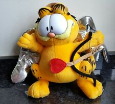 "Valentines Day - 8"" Cupid Garfield / Bow Arrow Soft Toy - GIFT PRESENT"