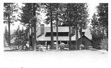 Frashers RP Postcard Peter Pan Woodland Club in Big Bear City, California~111532