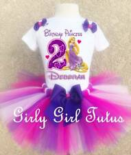 Princess Rapunzel Personalized Birthday Outfit Custom Add Name