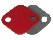 4G63 Dsm EGR Delete Block off plate and Gasket - Fits Lancer EVO DSM Talon Laser
