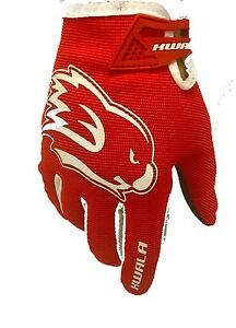 Kwala Tactix 1.0 Gloves Red Motocross MTB BMX Gloves