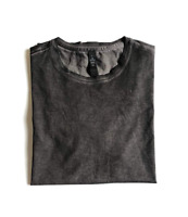 Lululemon Dyel Up Tee Shirt M PIBK Gray Black