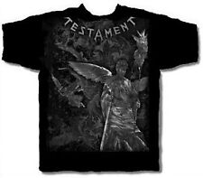 TESTAMENT cd lgo GLOWING EYE ANGEL Official SHIRT SMALL New oop