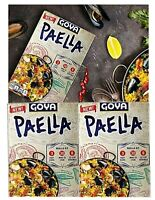 Goya Paella Yellow Rice Seafood Dinner, 8 Oz for 4 Servings (Pack of 3)