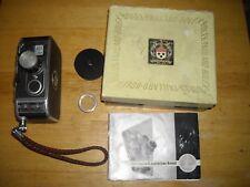 vintage Bolex Paillard B8 Cine Yvar 1:1,9 f= 13 mm move camera w/box and manual