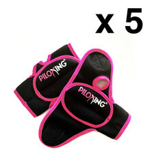 Lot of 5 PILOXING Pair of 1/2Lb Weighted Gloves Women Workout/Fitness/Kickboxing