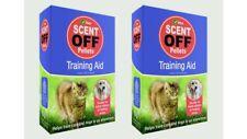 2 x Cat Repellent VITAX SCENT OFF PELLETS Packs Dog Repellent 55g