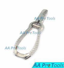 HEAVY DUTY THICK STAINLESS Steel Toe Nail Clippers PLIER Chiropody Podiatry
