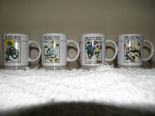 Norman Rockwell set of 4 never used 1992 coffee mugs.