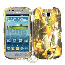 Samsung R830 Axiom Shield Camo Dry Leaves WFL026 Case Cover Guard Protection