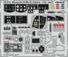 Eduard PE 32918 1/32 de Havilland Mosquito B Mk.IX/XVI interior details HK Mode
