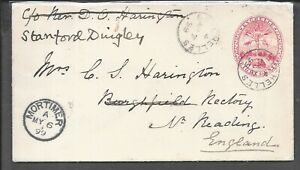 SEYCHELLES 1899 TO UK