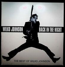 Wilko Johnson 'Back In The Night' best of 2xLP vinyl, deleted sealed Dr Feelgood